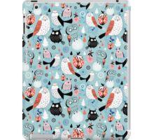 Pattern of the fun owls iPad Case/Skin