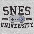 SNES University by Cory Freeman
