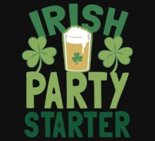 IRISH party STARTER! with pint glass One Piece - Long Sleeve