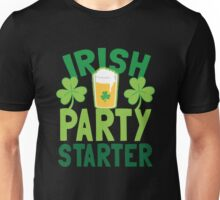 IRISH party STARTER! with pint glass Unisex T-Shirt