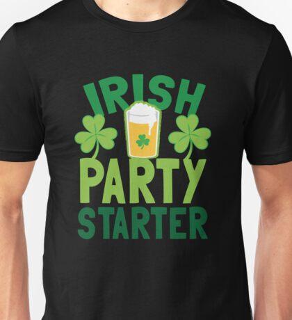 IRISH party STARTER! with pint glass Unisex T-Shirt