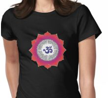 Aum 15 Womens Fitted T-Shirt