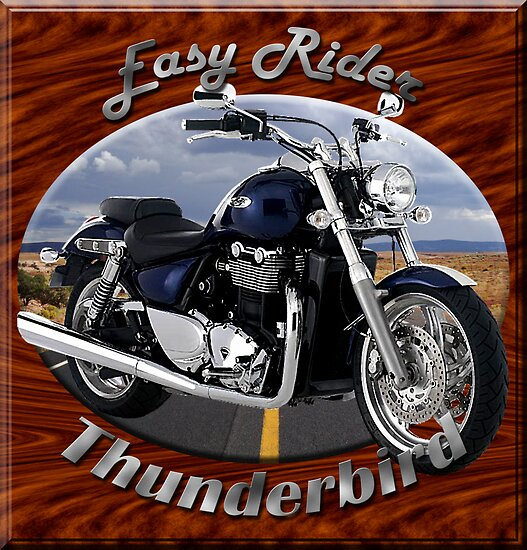 Triumph Thunderbird Easy Rider by hotcarshirts