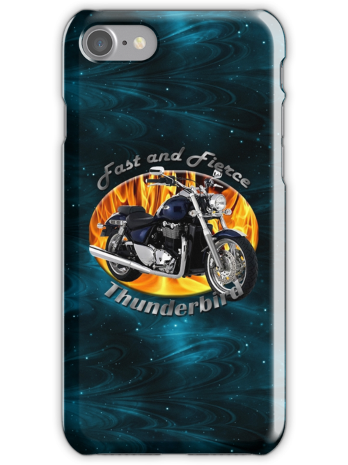 Triumph Thunderbird Fast and Fierce by hotcarshirts