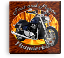 Triumph Thunderbird Fast and Fierce Metal Print