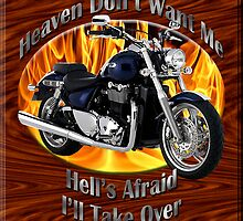 Triumph Thunderbird Heaven Don't Want Me by hotcarshirts