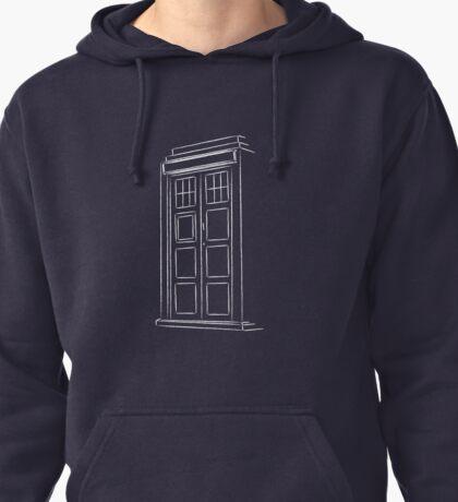 Jump on the TARDIS Pullover Hoodie