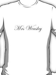 Mrs Weasley T-Shirt