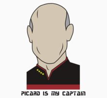 Picard is my Captain (Dark Text) by Getts182