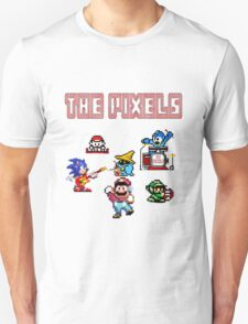 The Pixels - Old School Band T-Shirt