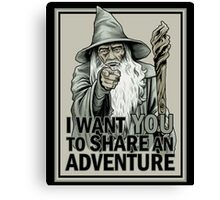 Middle Earth Recruitment Canvas Print