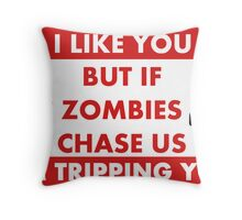 Best Friends For Now Throw Pillow