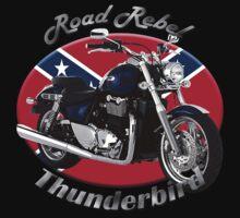 Triumph Thunderbird Road Rebel Kids Tee
