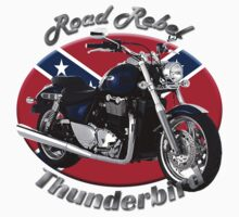 Triumph Thunderbird Road Rebel by hotcarshirts