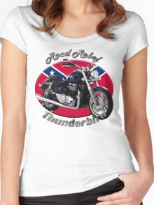Triumph Thunderbird Road Rebel Women's Fitted Scoop T-Shirt