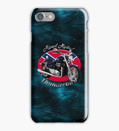 Triumph Thunderbird Road Rebel iPhone Case/Skin