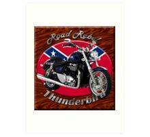Triumph Thunderbird Road Rebel Art Print