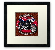 Triumph Thunderbird Road Rebel Framed Print