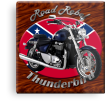 Triumph Thunderbird Road Rebel Metal Print