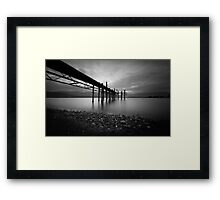 Lake Te Anau Jetty Framed Print