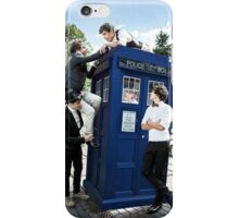 One Direction & The Tardis iPhone Case/Skin