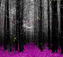 Firefly - purple by ToothpickImages