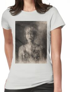 She Was Her Own Experiment  Womens Fitted T-Shirt