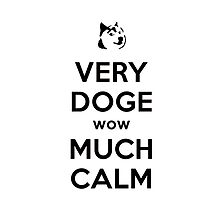 Doge Meme Very Calm Case by Krull