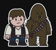 Mitesized Han & Chewwy Kids Tee