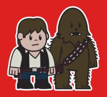 Mitesized Han & Chewwy by Nemons