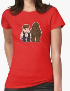 Mitesized Han & Chewwy Womens Fitted T-Shirt