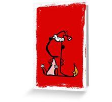 Sassymander Xmas Card! Greeting Card