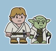 Mitesized Luke & Yoda Kids Clothes