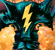 Pineapple Cat Sticker