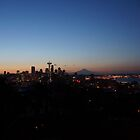 Seattle at Dawn by Ian Phares