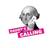Hamilton - Daddy's Calling Photographic Print