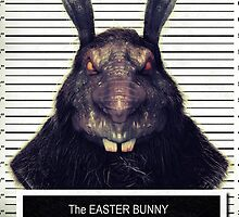Evil Easter Bunny Rabbit by crouchingpixel