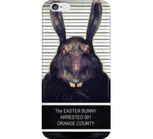 Evil Easter Bunny Rabbit iPhone Case/Skin