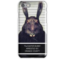 Evil Easter Bunny Rabbit iPhone Case/Skin