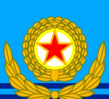 Flag of the Korean People's Army Air Force Sticker
