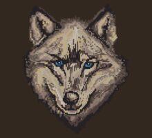 Pixel Wolf II by Glo-go