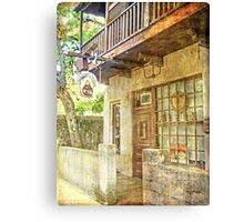 Old Town St. Augustine Canvas Print