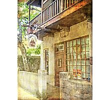 Old Town St. Augustine Photographic Print
