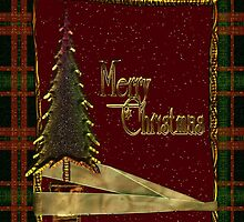 Merry Christmas Greeting Card by Vickie Emms