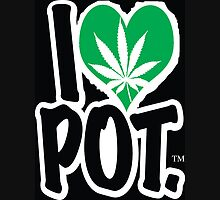 I Love Pot Unisex T-Shirt