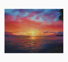 Maui Sunset Kids Tee