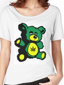 I Love Pot Clothing Stash Bear Women's Relaxed Fit T-Shirt