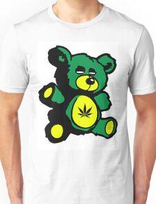 I Love Pot Clothing Stash Bear Unisex T-Shirt