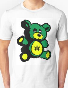 I Love Pot Clothing Stash Bear T-Shirt