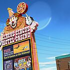 Las Vegas - Circus Circus Casino Sign by GregorDyer